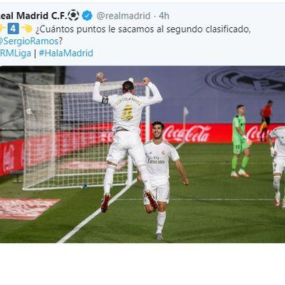 سبورت : تغريدة حساب ريال مدريد تزعج جماهير برشلونة والمدرب زين الدين زيدان