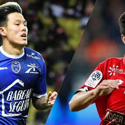 """""""Ligue 1 : Kwon (Dijon) et Suk (Troyes), la hype sud-coréenne en questions"""" (L'Equipe)"""