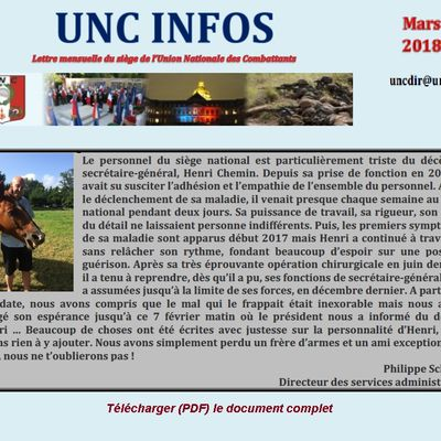 Infos nationales