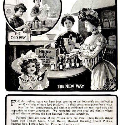 Heinz, avant Ford, inventa le capitalisme moderne, à savoir : l'esclavage des femmes et des enfants