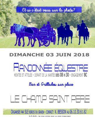 Rando à Champ Saint Père (85) dimanche 3 juin 2018