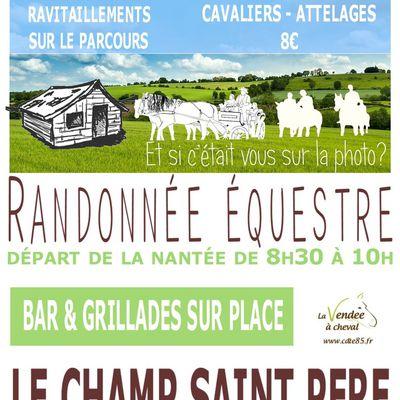Rando au Champ Saint Père (85) dimanche 19 mai 2019