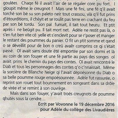 Suite et fin de l'histoère de Vovonne Limon: La virée d'Adèle Blanchette