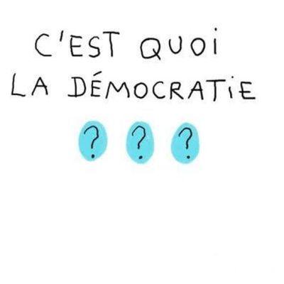 Pauvre démocratie!