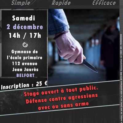 02-12-2017 Stage cas concrets - Défenses contre aggressions
