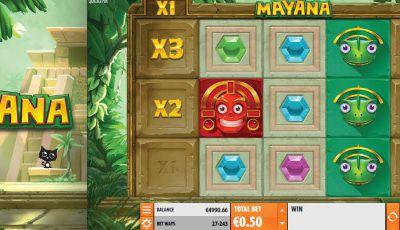 Mayana, la toute dernière machine à sous en ligne du développeur Quickspin