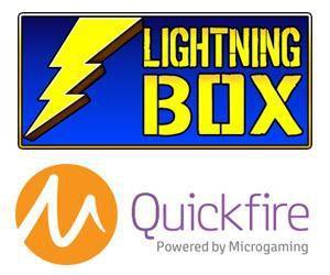 Les jeux Lightning Box bientôt disponibles sur la plateforme Quickfire de Microgaming