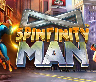 Spinfinity Man est le nouveau héros de la dernière machine à sous en ligne Betsoft