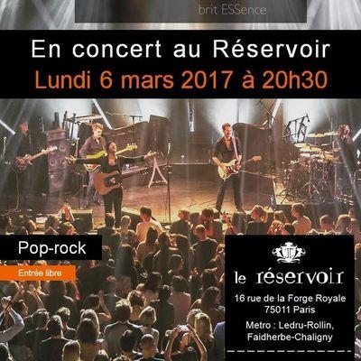 bESS britESSence 6 mars 2017 à Paris