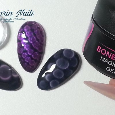 Nail art facile avec le magic dip