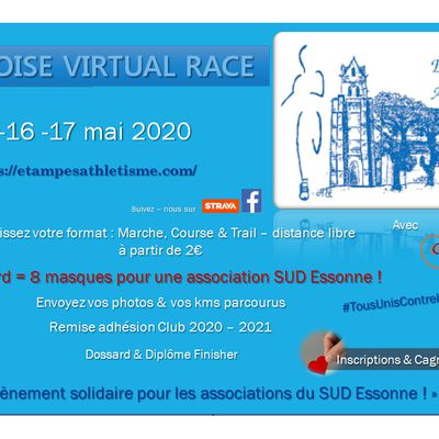 [15 au 17/05/2020] Etampoise Virtual Race