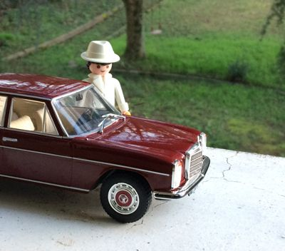 Auto vintage : Mercedes 220 W115