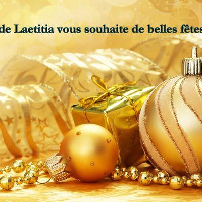 Belles fêtes de fin d'année!!!