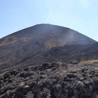 Sicile - Ascension du versant nord de l'Etna