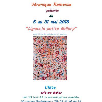 """A Saint-Lô, exposition à """"L'Arca, art, café, atelier"""", 40 rue des Maréchaux"""