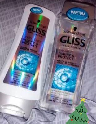 Test produse din gama  Gliss Purify & Protect