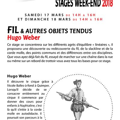 STAGES WEEK-ENDS A THEMES AVEC SUPERCRAMPE