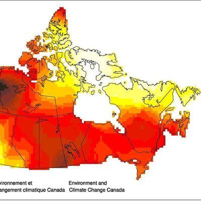 Le changement climatique affecte le nord du Canada