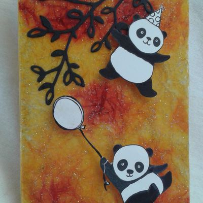 PANDAS FESTIFS STAMPIN'UP