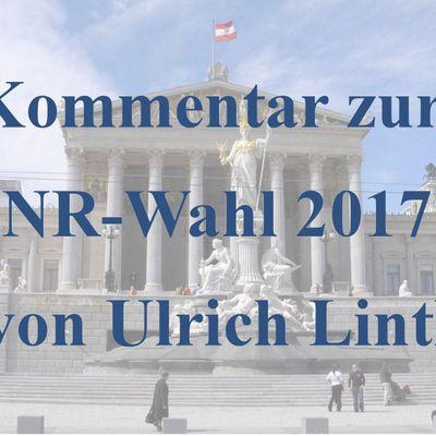 Persönlicher Kommentar zur Nationalratswahl 2017 von Ulrich Lintl