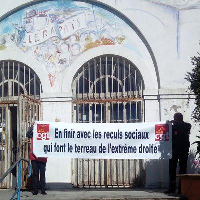 Droit de Réponse de l'Union Locale CGT d'Alès suite à article de Midi-Libre