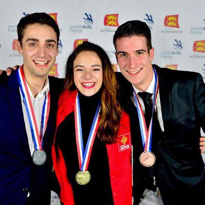 Olympiades des métiers 2018 : voici le podium de la sommellerie