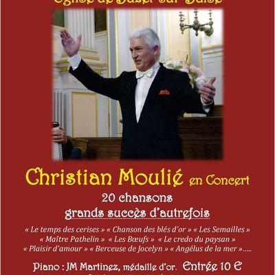 Christian Moulié en concert