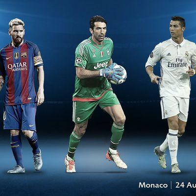 Joueur de l'année UEFA, Buffon parmi les finalistes