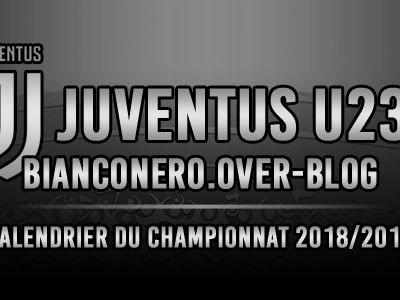 Juventus U23, calendrier du Groupe A de la Serie C