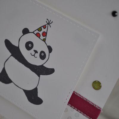 Panda en fête