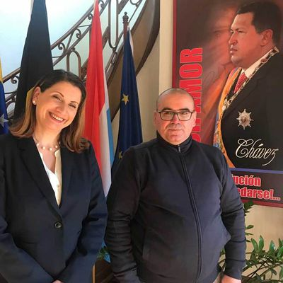 """Ambassador of Venezuela to the Kingdom of Belgium, Luxembourg and the European Union: """"For 18 years, we are showing to the world that another model is possible"""""""