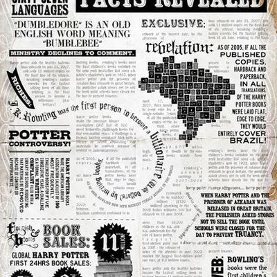 Harry Potter - facts, figures & trivia
