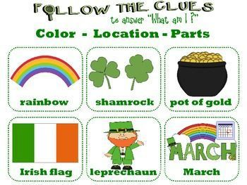 St Patrick's Day  | VOCABULARY Games