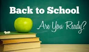 Hello everyone... WELCOME back to school
