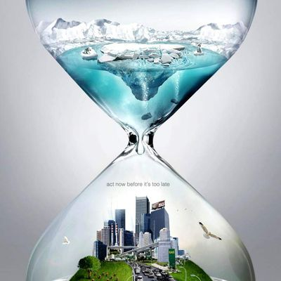 """""""We're running out of time... Act now, before it's too late!"""" 