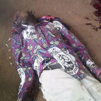 1ER MAI 2018 endeuillé à Bangui . massacre à l'église catholque de Fatima- de nombreux morts dont un abbé