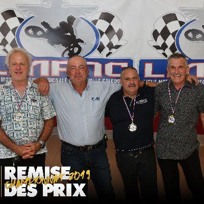 Remise des Prix Championnat NC 2019