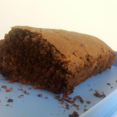 Gâteau chocolat-banane  moelleux