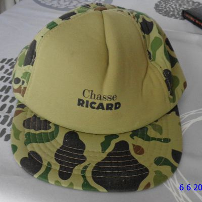 Casquette Chasse Ricard