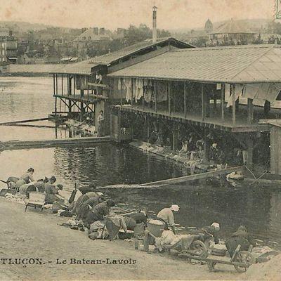 Le bateau-lavoir de Montluçon