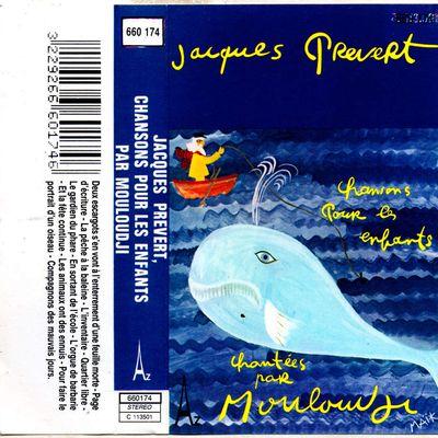 Jacques Prevert, chansons pour les enfants par Mouloudji - 1976