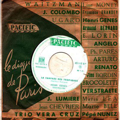 Henri Génès et l'Orchestre Marius Coste - La fanfare des tropiques - 1959