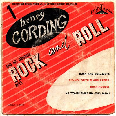Henry Cording and his original Rock and Roll Boys - 1