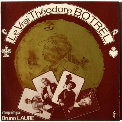 Le vrai Théodore Botrel interprété par Bruno Laure