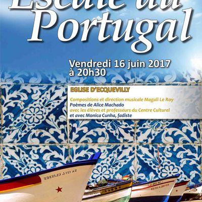SOIRÉE PORTUGAISE EGLISE D'ECQUEVILLY VENDREDI 16 JUIN 2017 20h30