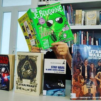 L'univers Star Wars, héros de pop culture, Tintin...