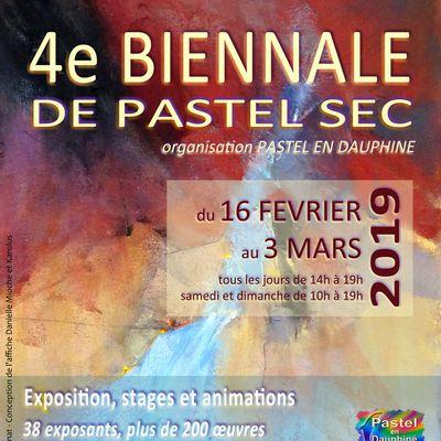 4e Biennale de Pastel en Dauphiné