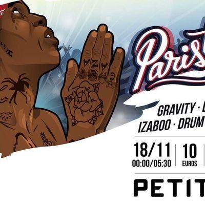 ParisTown Episode 3 - Samedi 18 Novembre - Petit Bain - Paris