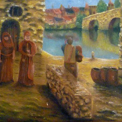Village vu du port