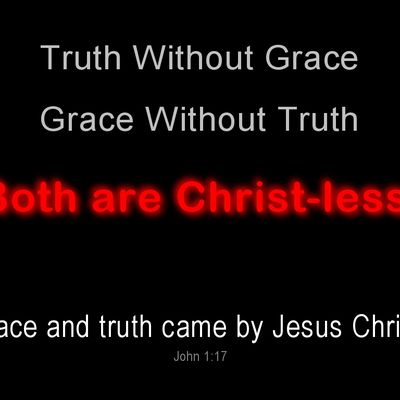 Finding the Balance Between Truth and Grace